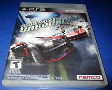 Ridge Racer Unbounded Sony PlayStation 3 *Factory Sealed! *Free Ship!