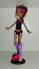 Monster High Clawdeen COMPLETE Football School Uniform Fashion Pack Poupée Doll