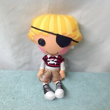 """Lalaloopsy plush doll pirate with Patch over eye.10"""""""