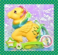 💕My Little Pony 35th Anniversary Retro Skydancer 2017 Rainbow Pegasus G1 Style