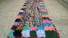 Small Handmade Moroccan Berber Rug Azilal Rug Runner Carpet 2 x 6 ft Beni Ourain