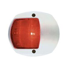 PERKO LED SIDE LIGHT 12V RED W/ WHITE PLASTIC