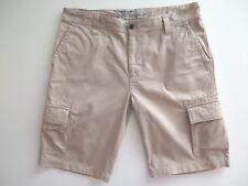 Pierre Cardin Safari Trophy Men's Tailored Jeans Cargo Shorts Size EU 52 / W36