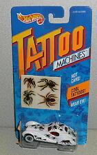 Mattel Hot Wheels Tattoo Machines SPIDERIDER #3479 *MOC 1992 Made In China