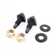 2pcs Car Wiper Front Windshield Windscreen Washer Sprayer Nozzles Replacement ##