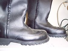3009  FIREFIGHTER BOOTS SISE 10E VERY LITTLE WEAR FREE SHIPPING