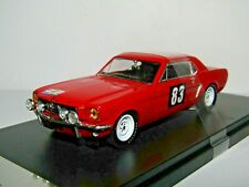 PREMIUM X FORD MUSTANG 1964 TOUR DE FRANCE RALLY #83 PROCTER 1/43 PRD310