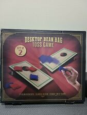 Desktop Cornhole Board Bean Bag Toss Mini Game Set Classic Toy Gift Men Tabletop