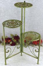 Blumentreppe Beistelltisch Blumenampel Eisen Metall Hocker Blumenständer Regal