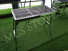Brand New Portable Easy to Carry BBQ Stand-STAINLESS STEEL
