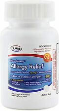 Camber Allergy Relief Loratadine 10Mg Antihistamine 300 Tablets