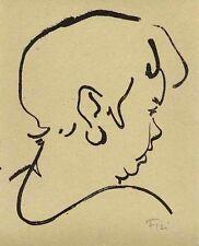 Ottilie Heinz Fleischer - 1954 mano con firma origlithographie (pece pietra-prezzo)