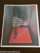AJ SPECIFICATION - NOTTINGHAM ARTS CENTRE - DEC 2006