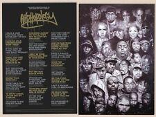 HIp Hop Rap Poster ! Brand New ! BEST RAP QUOTES ! BIGGIE KRS-ONE EMINEM 50 DRE