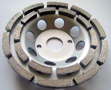 3 x Diamant-Schleiftopf Schleifteller 125 mm Bohrung 22,23 univ. Beton Estrich