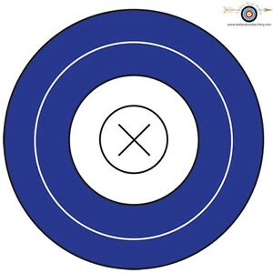 7 Inch Paper Target-25 sheets- Free Fast Shipping