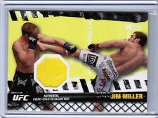 2010 TOPPS UFC JIM MILLER AUTHENTIC EVENT-USED OCTAGON FIGHT MAT RELIC