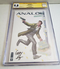 Analog 1 Image 2018 CGC SS 9.8 C2E2 Variant Signed Gerry Duggan