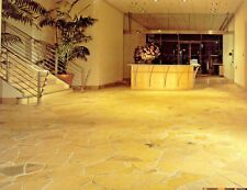 Gehwegplatten Polygonalplatten 50 m² Naturstein Terrassenplatten Fliesen crema