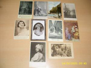 LARGE COLLECTION OF  VINTAGE  POSTCARDS