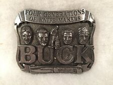 BUCK Knives Metal Belt Buckle #950586 Smokey Mountain Knife Works