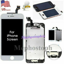 For iPhone 5 SE 6 6s 7 Plus LCD Screen Digitizer Replacement Home Button Camera