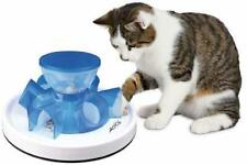 Cat Interactive Feeder Bowl Skill Trainer Treat Puzzle Kitten Tunnel Food Toy