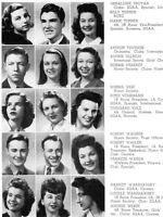 1944 Chicago Senn High School Yearbook~Photos~History~Football~Basketball~WWII++