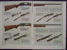 Remington 58 & Winchester 50 Automatic SHOTGUN 1958 pictorial How they work