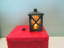 Playmobil accessories GREEN LANTERN ON RED CRATE THAT LIGHTS UP!