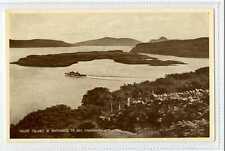 (Sc201-100)  Calve Island & Entrance To Bay Tobermory,unused ,Vg