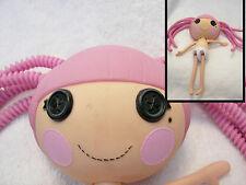 "LALALOOPSY FULL SIZE 12"" DOLL  Lady still pink hair long braids  clean"