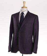 NWT Custom $3695 OXXFORD HIGHEST QUALITY Plum Purple Wool Sport Coat 38 R