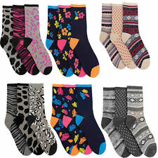 Cotton Blend 4-11 Socks for Women