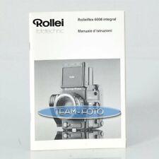 Rollei Anleitung - 6008 Integral ( Italienisch )