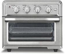Kitchen Shop Whisper Quiet Air-Fry Convection Bake Broil Warm Toaster Oven New