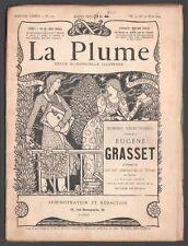 La Plume. Numéro exceptionnel consacré à Eugène Grasset. N° 122. 1894