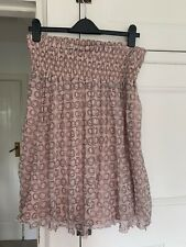New listing BNWOT Mexx And Co Pink Skirt M Karen Millen Style