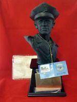 "NEW VANMARK POLICEMAN BLUE HATS OF BRAVERY BRONZE TROPHY PE89182 1/1714 13"" TALL"