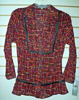 NY Collection Size M Medium Top Blouse New Womens Shirt