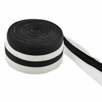 10/15mm Silicone Gripper Elastic Webbing Shoulder Strap Tape Bra DIY Handcraft