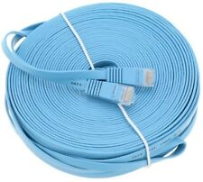 30m 100ft CAT6 Premium Ethernet Network Flat Cable LAN UTP 1000MB/S Gigabit RJ45