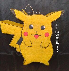 Pokemon  Pikachu pinata.