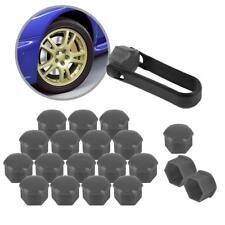 20 Grey Wheel Lug Nut Center Cover Caps + Tool for Audi A1 A3 A4 A5 A6 A7A8 Q5
