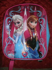 FROZEN ELSA & ANNA  JUINOR BACKPACK WITH PADDED STRAPS