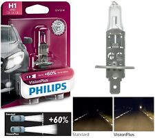 Philips VIsion Plus 60% H1 55W One Bulb Head Light Low Beam Plug Play Replace OE