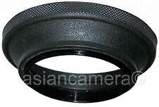 77mm Wide Angle Rubber Folding Lens Hood Sun Shade Screw-in 77 mm U & S High Q