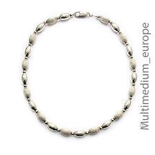 925er Sterling Silber Halskette Oliven vintage silver necklace olive 🌺🌺🌺🌺🌺