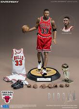 ENTERBAY 1/6 NBA Collection RM-1064 Chicago Bulls Scottie Pippen Action Figure