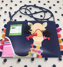 "NWT KATE SPADE NEW YORK ""WINKING CAMEL LEATHER"" POUCH CROSSBODY SOLD OUT!!"